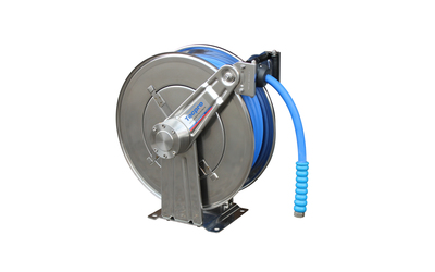 Tecpro Spring Retractable Hose Reels with Safety Brake