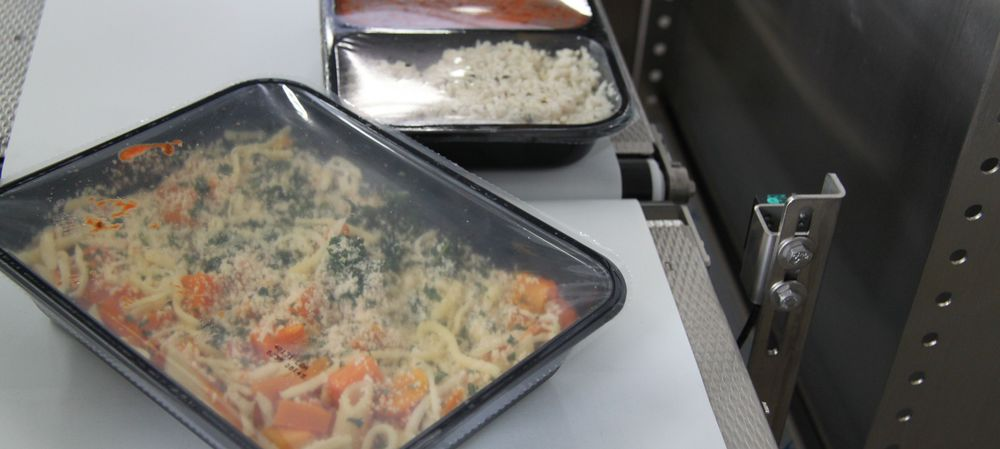 Which inspection technologies can be used in ready meals?