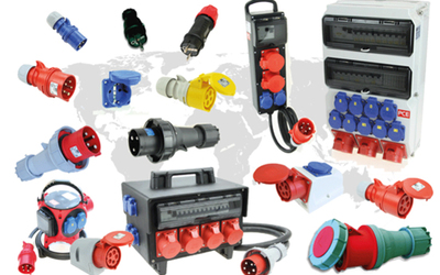PCE IP66/67 industrial plugs and sockets