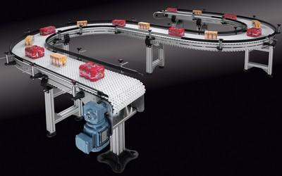 Easy Conveyors EMBS flat top conveyor system