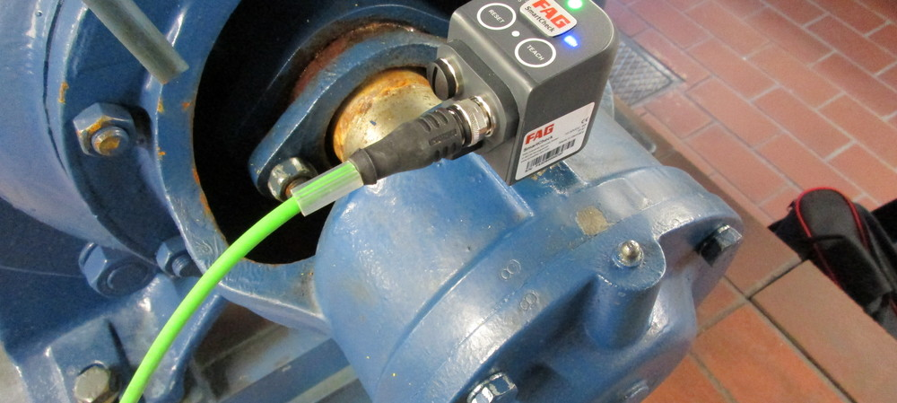 Condition monitoring of pumps in Germany