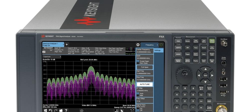 The progressive transformation of spectrum analyser technology
