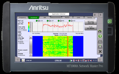 Anritsu Network Master Pro MT1000A fibre tester