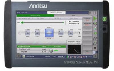 Anritsu Network MT1000A Master Pro multifunction tester