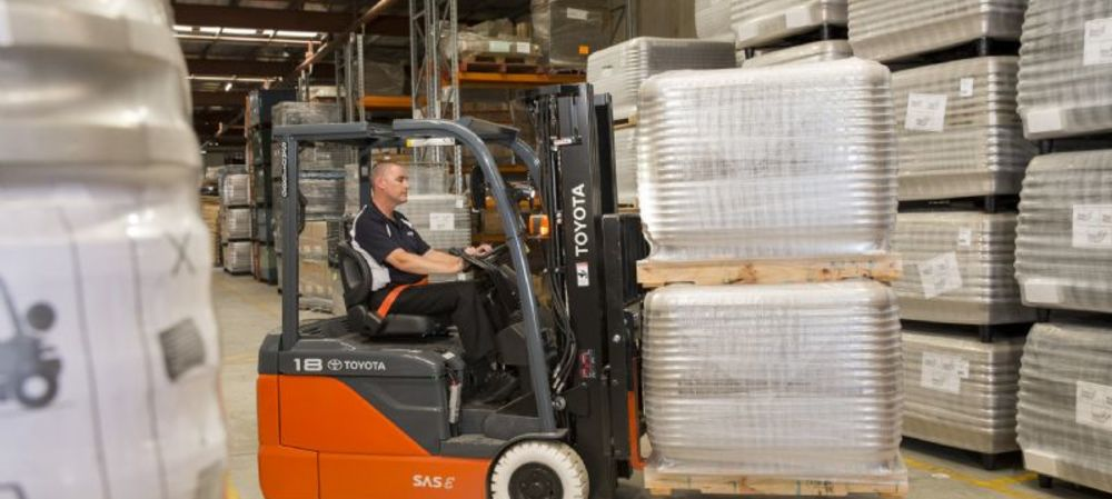 Seeley International makes OH&S improvements with Toyota forklifts