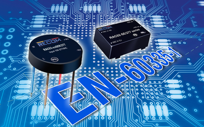 RECOM mini power supplies for smart home/office applications