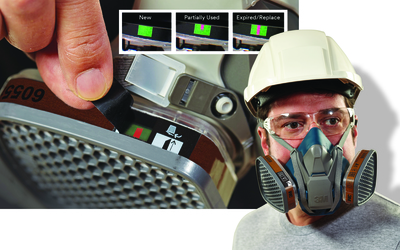 3M full (6800 series) and half-face (7500 series) respirators