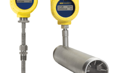 FCI ST51A, ST75A and ST75AV thermal dispersion mass flow meters