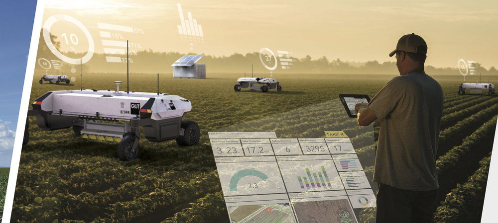 Agricultural robot kills weeds and saves farms