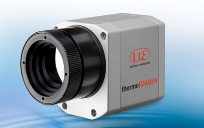Micro-Epsilon TIM G7 thermal imaging camera for glass applications