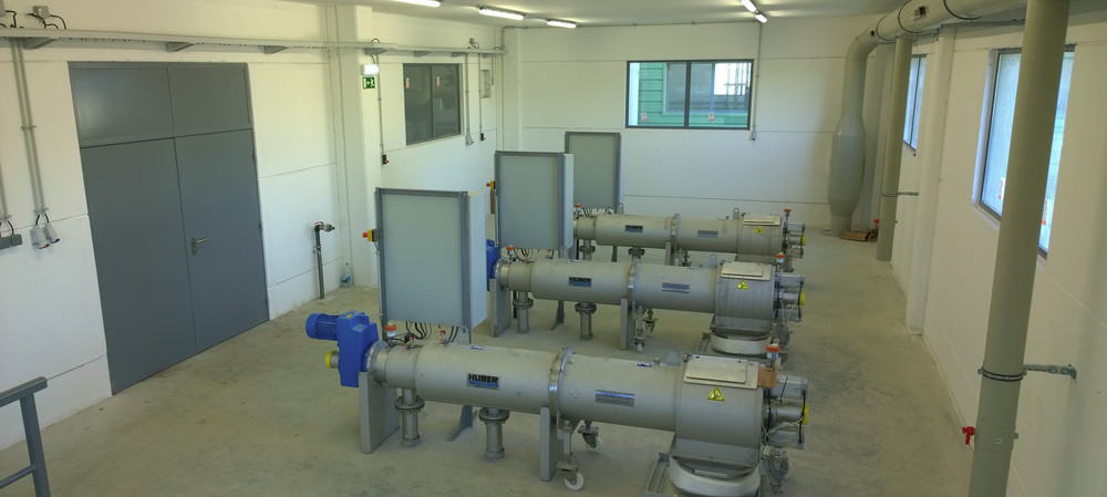 Sludge screens help Sydney Water produce biogas from sewage