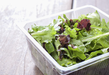 Bagged salad and food poisoning