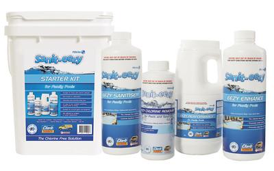Filtrite Sanit-eezy chlorine-free sanitising chemical range