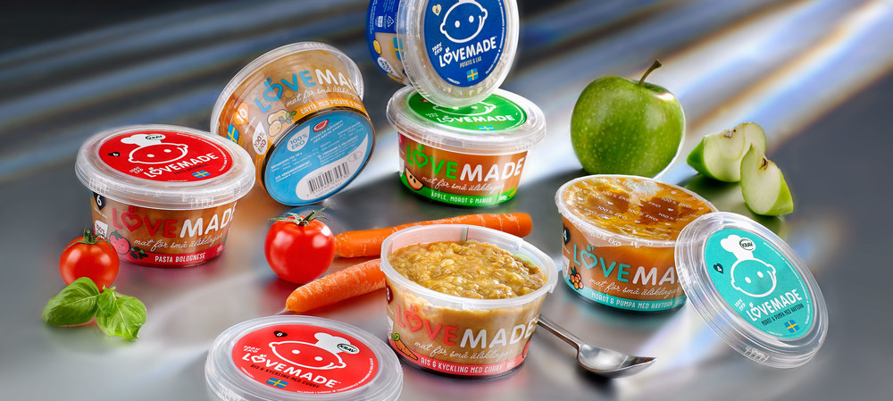 Baby food creator opts for re-usable packaging