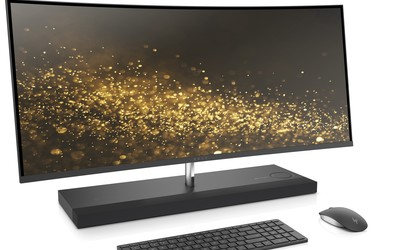 HP ENVY Curved All-in-One 34 gaming display