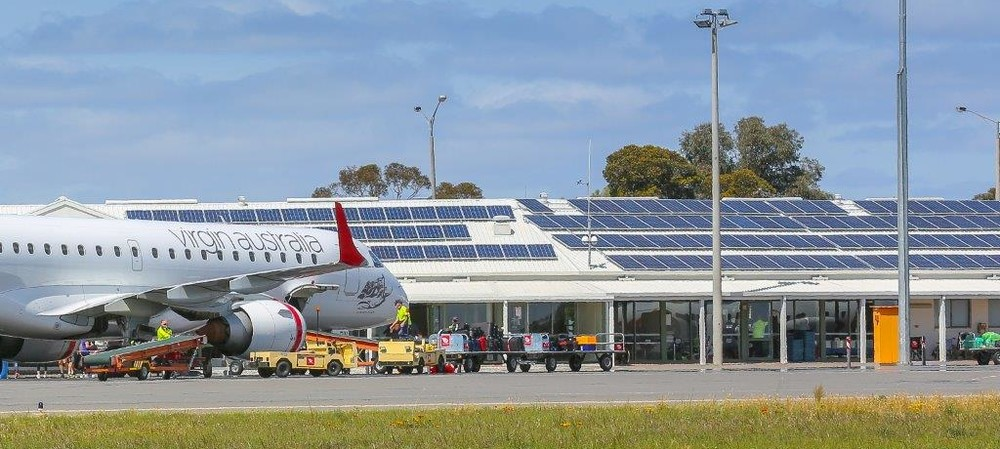 Solar solves Mildura Airport's energy problem