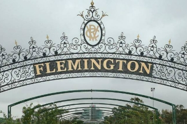 Melbournce Cup, Flemington Racecourse - Home of the Cup.