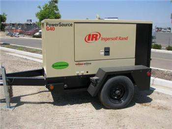 National Truck Spares - Ingersoll Rand G40 Generator