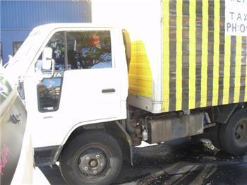 National Truck Spares - Wrecking Daihatsu Delta V78 13B Engine and Parts