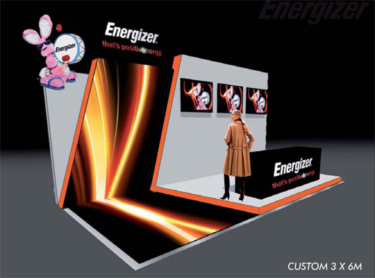 custom exhibition stands,trade show booth 3 x 6m