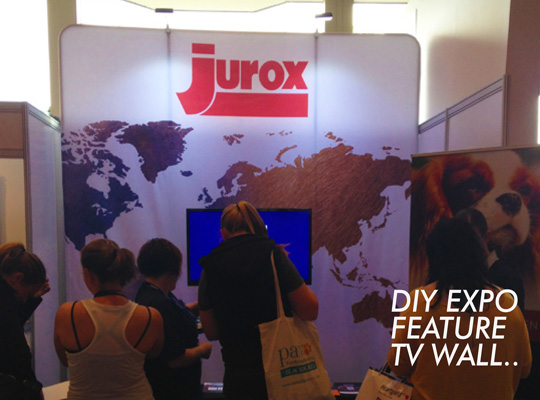JUROX AUSTRALIA- 3M TV WALL - TENSION FABRIC EXPO KIT- SKYZALIMIT DESIGN