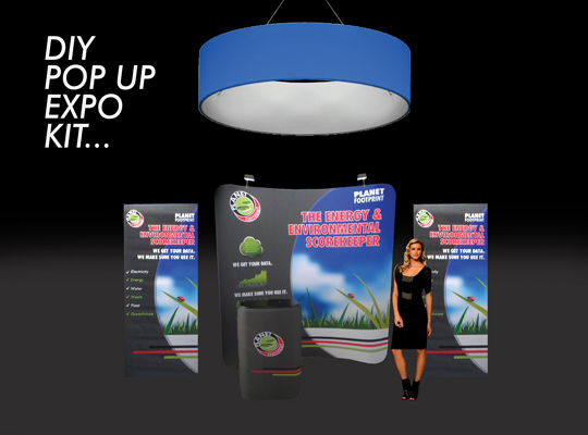 pop up tension fabric trade show display, SKYZALIMIT