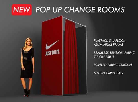PORTABLE CHANGE ROOMS - POP UP CHANGE ROOMS - TEMPORARY CHANGE ROOMS