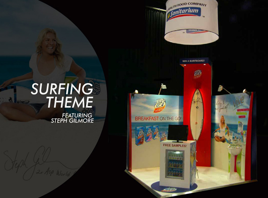 custom exhibition stand,trade show booth 3 x 3m with hanging fabric trade show banner