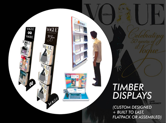 TIMBER AND WOOD DISPLAY STANDS, CUSTOM WOOD POINT OF SALE DISPLAYS FOR RETAIL