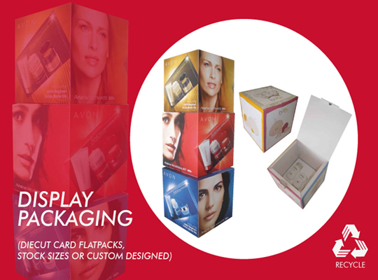 DISPLAY CUBES FOR RETAIL & POS DISPLAYS
