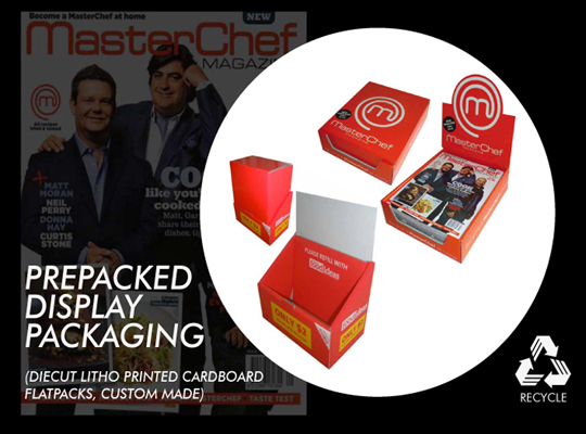 CUSTOM PRODUCT PACKAGING, POS DISPLAYS