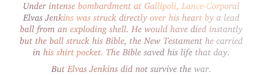 Chaplain Andrew Gillison was praised in one soldier's war diary as 'the bravest man he ever knew.' Dearly loved by the Gallipoli soldiers for whom he gave his life, Gillison's memorial still sits at Embarkation Pier, just north of Anzac Cove in Gallipoli.