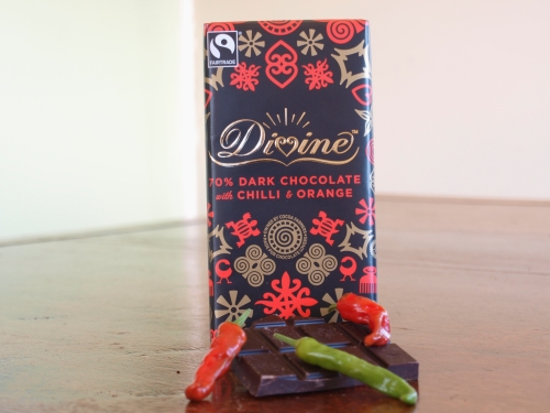 70% Dark Chocolate With Chilli and Orange 100g
