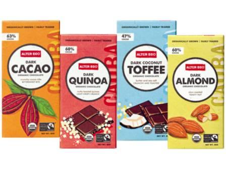 Alter Eco Fairtrade Dark Chocolates 80g (Cacao N/A)