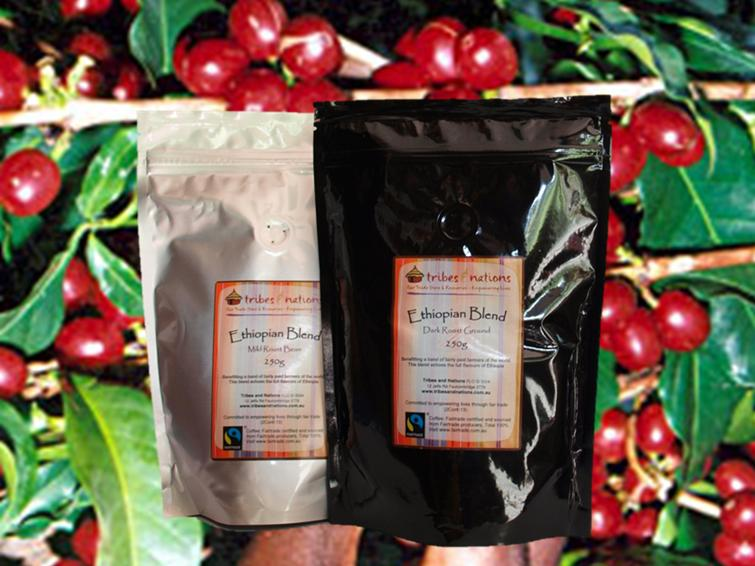 Ethiopian blend coffee subscription 250 g of 6 deliveries