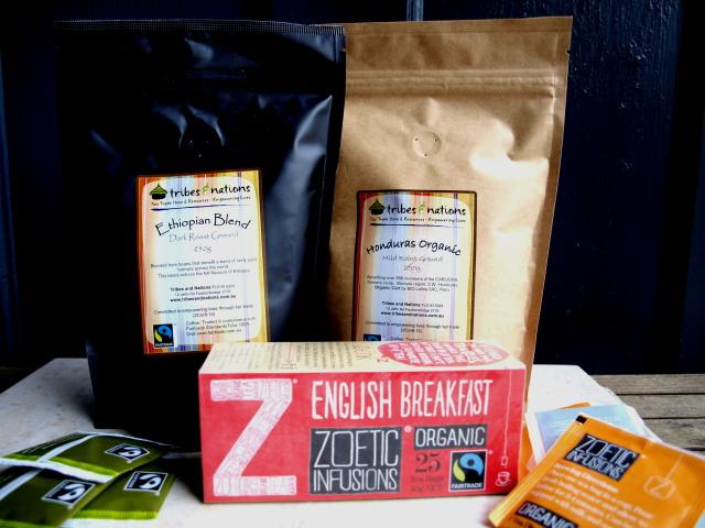 Fairtrade Coffee and Tea Sampler Pack