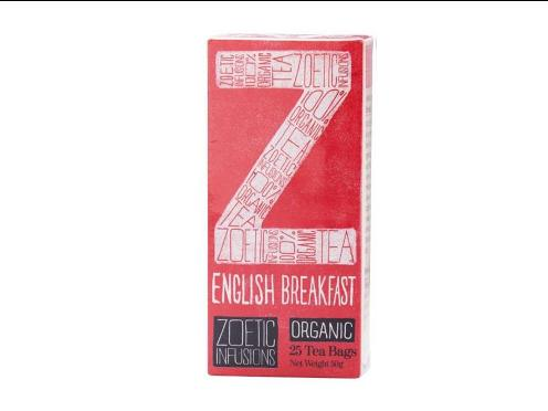 English Breakfast Organic Fairtrade tea