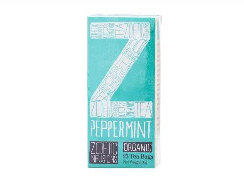 Peppermint tea Fairtrade & Organic