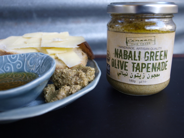 green olive tapenade (180g)