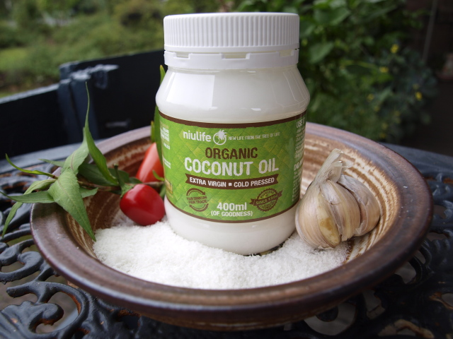 organic coconut  oil  (400ml)
