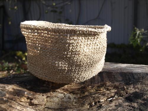 soft hemp basket baby
