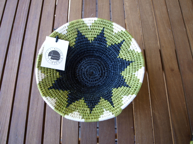 swazi basket  sea grass