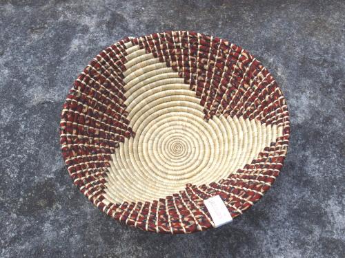 woven basket - maua (red 1)