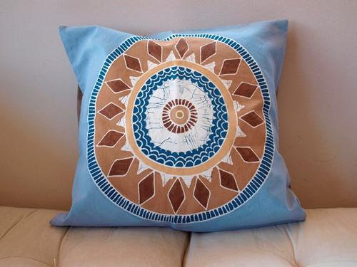 cushion cover clay