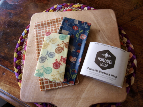 beeswax wrap (set of 3)