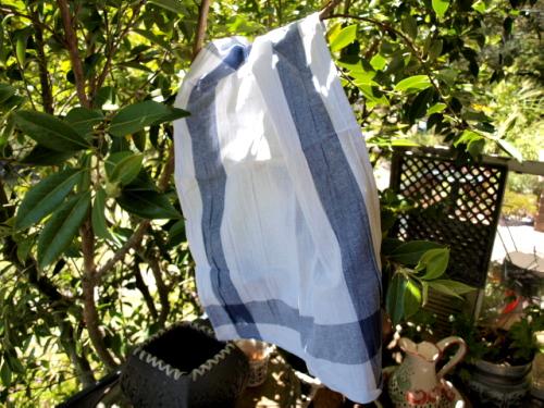 cotton tea towel spring