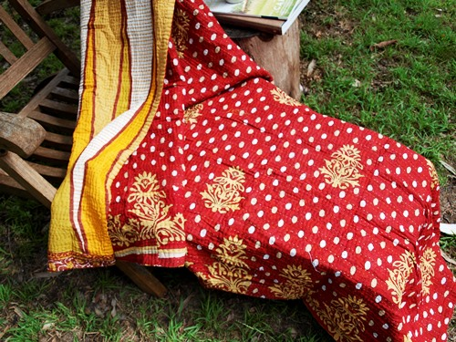 sari blanket country warmth