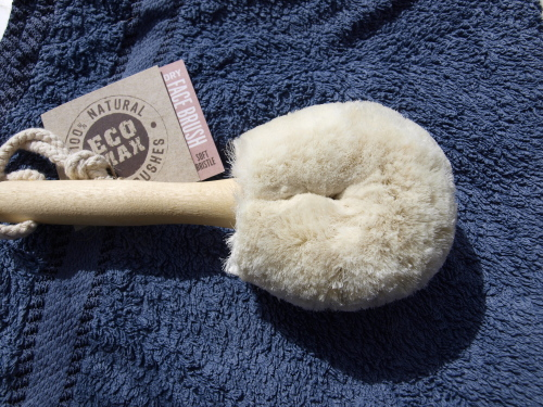 eco-friendly dry face brush