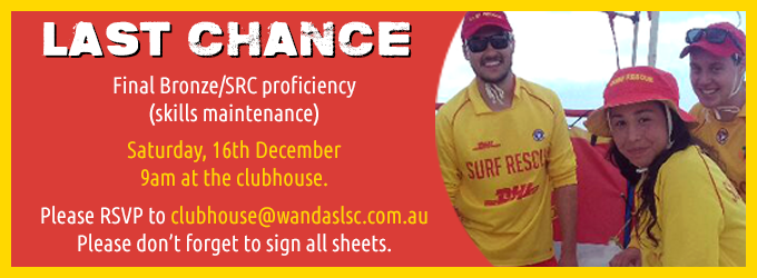 Last Chance to complete your proficiency!