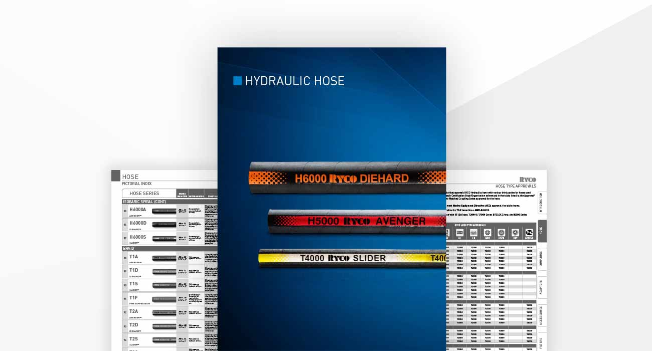 Hoses Section Hydraulics Technical Manual